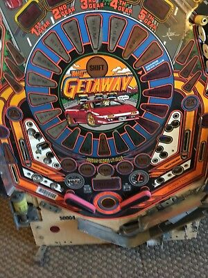 Williams pinball High Speed 2 getaway playfield (Playfield Only) No Parts!