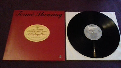 MEL TORME GEORGE SHEARING   a Vintage Year  Lp Original 1988 Concord Jazz nearMI