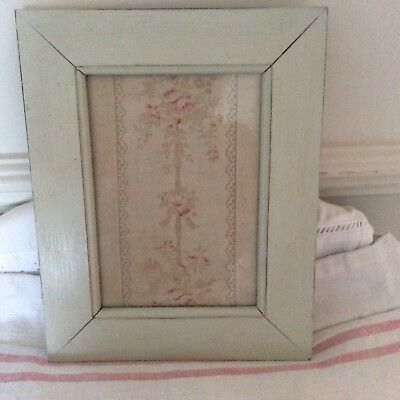Vintage French Fabric Picture