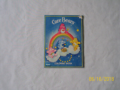 New Vintage 1982 Care Bears Coloring Book