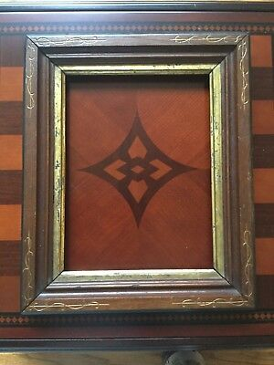 Antique Victorian Shadow Box Picture Frame