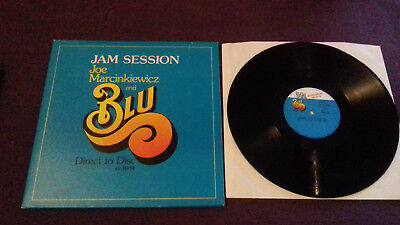 JOE MARCINKIEWICZ & blu LP foc  M&K 10014 Audiophile! 45 D2D Direct To Disc!