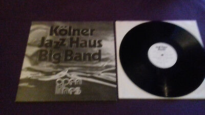 KÖLNER JAZZ HAUS Open Lines  Lp 1980  JHM 04  superselten! nearest MINT   WOW!!