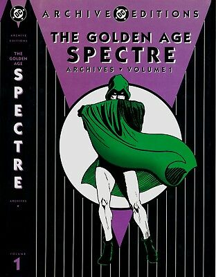 Golden Age Spectre Vol.1 - DC Archives - Hardcover - 1st Edition 2003