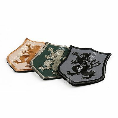 DEVGRU Lion Patch Set AOR1 NSWDG Seal Team 6 Embroidered Militaria Patch Hook