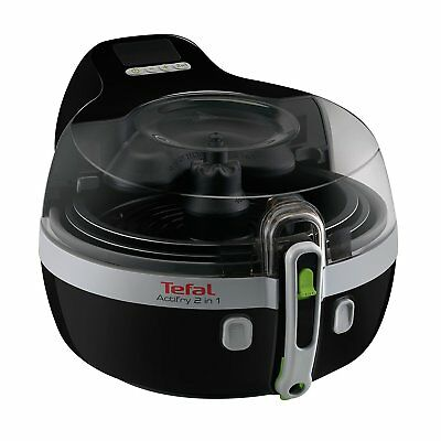 TEFAL YV 9601 ActiFry 2in1 Fritteuse Schwarz/Silber