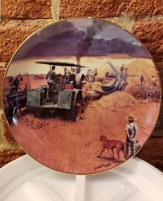 Beating The Storm The Danbury Mint Collector Plate By Emmett Kaye No. J3078