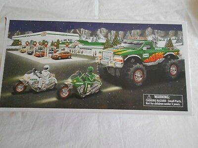 2007 Hess Toy Monster Truck w/Motorcycles -  NIB