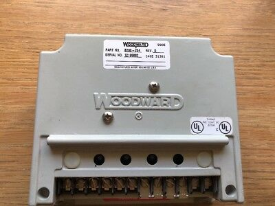 Woodward 8290-204, EPG Speed Control , Rev D