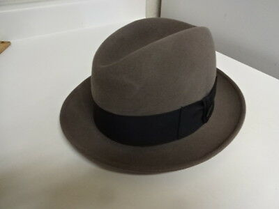 17cb879d2d66b1 Vintage 60S Royal Stetson Fedora Hat Great Cond Not Much Used Very Clean 6  3/