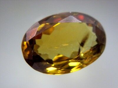 TITANIT (SPHEN)  -  OVAL FACET  -  9x6,5 mm  -  1,73 ct.