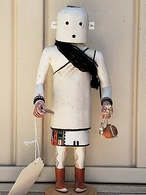 Hopi Hand Carved, Painted & Signed Kachina