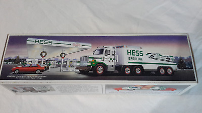 1988 Hess Toy Truck and Racer -  NIB
