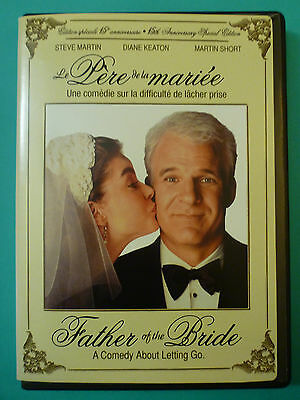 Father of the Bride (DVD*15th Anniversary*En/Fr*Steve Martin*Diane Keaton*Short)