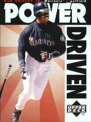 1996 (MARINERS) Upper Deck Power Driven #PD7 Ken Griffey Jr.