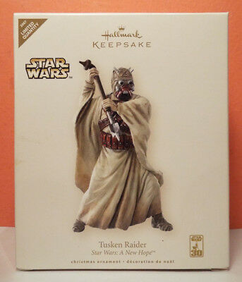 Hallmark 30th Limited STAR WARS Tusken Raider 2007 Keepsake Ornament New Hope