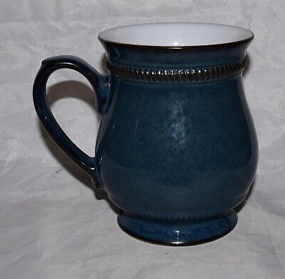 Denby Stoneware Mug Blue Solitaire with Rope Design Hard to Find