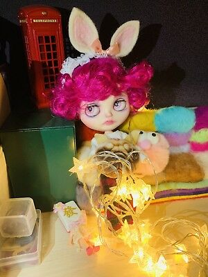 """Blythe Doll OOAK custom pinky baby 12"""" neo excellent condition"""