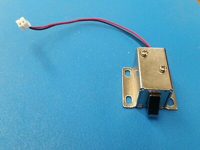DC 12V mini electric solenoid lock assembly for cabinet door