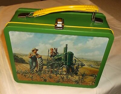 "John Deere lunch box  ""Lunch Time"" 2nd in series"