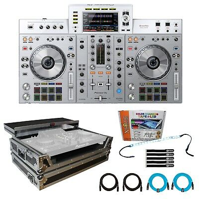 Pioneer XDJ-RX2-W Limited Edition Professional DJ Controller + Case + LED Strip
