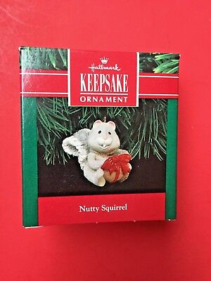 Hallmark 1991 Nutty Squirrel Ornament