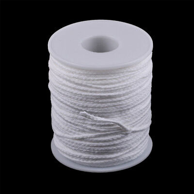Spool of Cotton White Braid Candle Wicks Core Candle Making Supplies Mu
