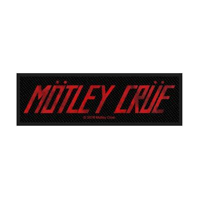 Official Licensed - Motley Crue - Logo Sew On Patch Heavy Metal Rock