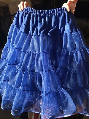 Malco Modes Model 565 Madeline Royal Blue Medium Petticoat