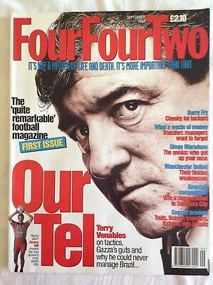 Rare first issue Four Four Two magazine