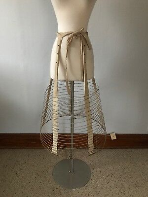 Victorian Antique Wire Cage Hoop Skirt