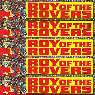 Roy Of The Rovers Football Sports Picture Stories Full Comics – Various Issues