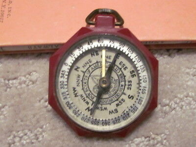 Vintage Boy Scout Compass BSA Boy Scouts of America 1950s National Jamboree