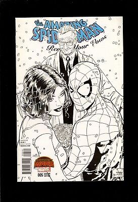 Amazing Spider-Man Renew Your Vows #5 Sketch Variant 1:200 Fine  Comic Kings