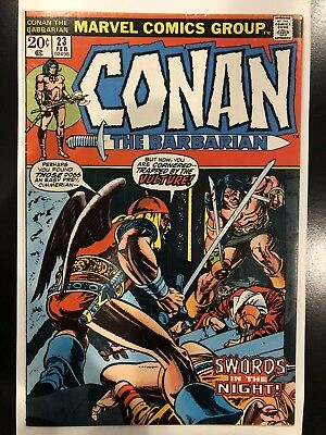 Conan The Barbarian #23 VG+ 1st Appearance Of Red Sonja Key Issue! Hot