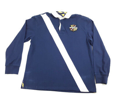 VINTAGE 90'S TOMMY Hilfiger Sport Tech Polo Rugby Shirt Sz