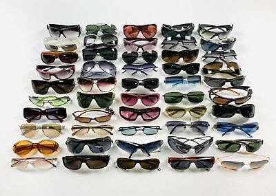 Lot Of 50 Pairs Of Vintage Sunglasses Made In Italy New Old Stock