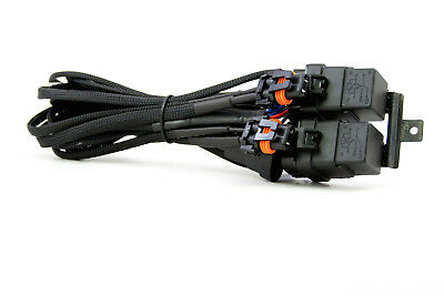 H1 H3 H7 H8 H9 H10 H11 880 5202 9005 9006 9012 Morimoto HID Relay Wire Harness
