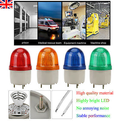 LED Warning Emergency Equipment Flashing Lighting Bulb Beacon Lamp 220V Durable