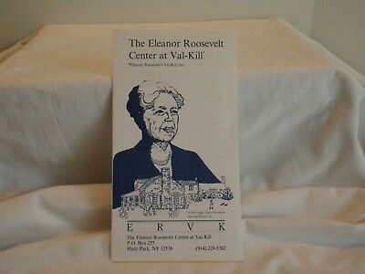 Guide to THE ELEANOR ROOSEVELT CENTER at VAL-KILL in HYDE PARK, NEW YORK