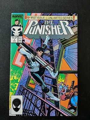 Punisher 1 * 1st On-Going Series! Mike Baron & Klaus Janson!