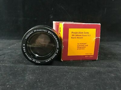 Apollo Projection Lens 100-200mm Zoom f3.5 Rack Mount Lens