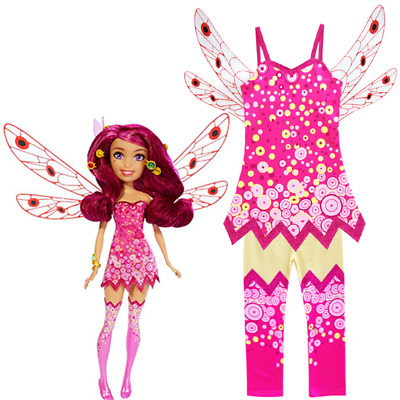 Girls Mia and Me Costume Fairy Princess Cosplay Christmas Fancy Dress Outfit