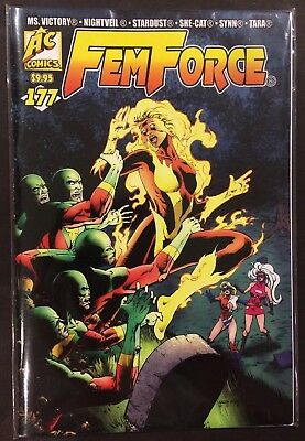 FEMFORCE #177 FN (AC Comics 2016) Atomic Blonde Flip-book, Good Girl Art, GGA