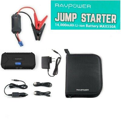 14000mAh Vehicle Car Jump Starter Booster USB Battery Power Bank Charger 12V AU