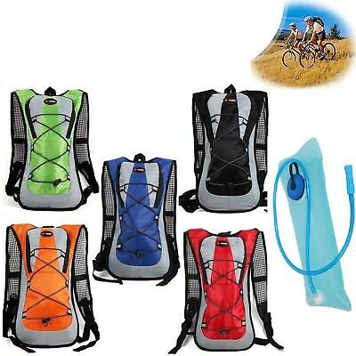 Hydration Bladder System Water Bag Camping Hiking Cycling Climbing Backpack ZJ