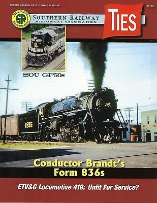 TIES: 4th Qtr 2017 issue of the SOUTHERN RAILWAY Historical Association (NEW)