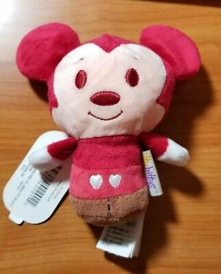 New Hallmark Limited Edition Disney itty bittys Happy Hearts Mickey Mouse NWT