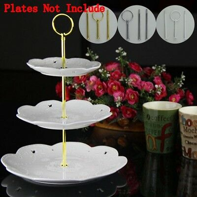 UK 3 Tier Cake Stand Afternoon Tea Wedding Plates Party Prom Banquet Cake Stands