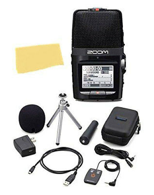 Zoom H2n Handy Recorder Bundle with APH-2n Accessory Pack, Polishing Cloth